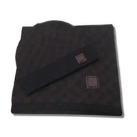 Новая Мода Высокое Качество Мужчины и Женщины Шляпные Шарф Наборы Теплые Шляпы Шарфы Наборы Шляпы Шарф Модные аксессуары