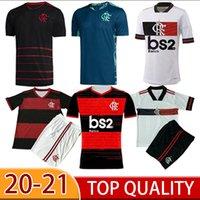 Homens + Kids Kit 20 21 Flamengo Futebol Jersey Flamenco Diego Guerrero e .riebeiro Mancoello H.Dourado Vinicius