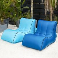 Air Sofa Aufblasbare Liegestühle Aufblasbare Couch Reisen Outdoor Camping Strandstuhl Picknick Hinterhof Air Hängematte Liege 2020