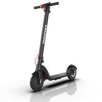 High Power GRUNDIG elettrica intelligente motorino 10inch Air Wheel 350W fuori strada E-motorino Max Chilometraggio 25 km IP54 impermeabile nero