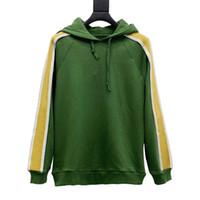 20s homens Hoodie top algodão acolhedor de manga comprida hoodies moda homens mulheres outono outono lado splicing reflexivo hoodie casaco tamanho xs-l