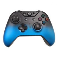 Wireless Gaming Controller Gamepad with Dual Vibration, Gradual Color Effect for Switch,PS3,PC,PC360,Android Etc1