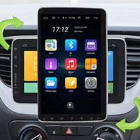 """자동차 GPS 액세서리 10.1 """"2 DIN 안 드 로이드 9.1 멀티미디어 라디오 네비게이션 360 ° 회전 1 + 16GB1"""
