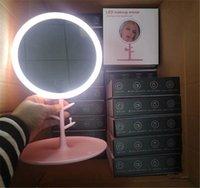 Держатели телефона со светодиодной камерой Selfie кольцо света макияж светильник с регулируемой стойкой живой туалетный столик лампы Selfie фотографии