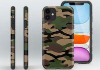 Moda Camouflage Soft TPU Designer Case per iPhone 11 12 Mini Pro XS XS XR MAX 7 8 8PLUS SE Plus Telefono cellulare Casi Cover Coque Fundas