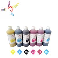 Cores / set 500ml tinta tintura para stylus color 9000 alta qualidade de impressora1 kits de recarga