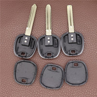 Transponder Chip Key Blank per Toyota Camry Reiz CRV Corolla Yaris Highlander Prado Car Shell Shell Nessun chip