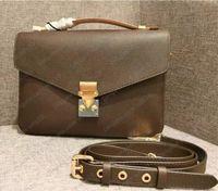 Frauen Handtaschen Geldbörsen Hohe Qualität Frauen Tasche Echtes Leder Pochette METIS Umhängetaschen Crossbody Bag Seriely Code M40780 LB83