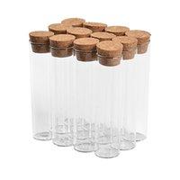 22ml Vider les contenants en verre et bouteilles Glittering Tube Translucide peuvent être remplis Parfums papier Lettre est Rechargeables Fioles