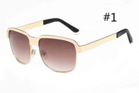 MOQ = 10pcs 여름 여자 금속 프레임 사이클링 선글라스 숙녀 승마 해변 Sunglasse Mens 야외 운전 안경 바람 선글라스