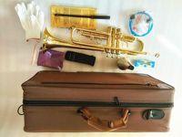Новый Professional LT180-43 BB Trumpet Instruments Золотой резной латунный музыкальный инструмент BB Trumpet Бесплатная доставка