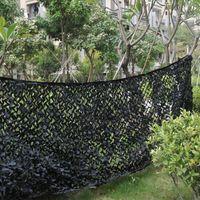 Tiendas y refugios reforzados Doble Capa Camuflaje Nets Caza Camo Netting Sun Refugio al aire libre Jardín Toldo Cubiertas de coches Tienda Sombra