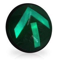 Módulos de alta potencia Semáforo Rojo Amarillo Verde Flecha LED 300 mm de diámetro