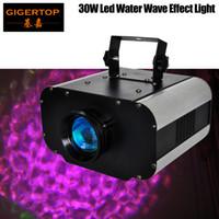 Freeshipping 30W LED-Wasser-Licht-Wasser-Effekt-Platten-Welleneffekt für Disco, Partylicht, Club 110V-240V Heißer Verkauf für Hochzeit