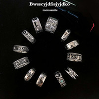 Gujia Double G Boppia Donne 925 Sterling Silver Indifferenza Classico Carving Trend Fashion Pair Anello