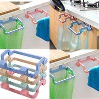 بسيطة القمامة حقيبة بلاستيك نقي اللون شنقا خرقة حامل المنزلية الجرف صالح لوازم المطبخ الحمام 0 95OH E1