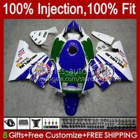 Injektion für Honda NSR250R MC28 PGM4 94 95 96 97 98 99 102HC.14 NSR 250 R 250r NSR250 R 1994 1996 1997 1998 1999 Verkleidung grün blau
