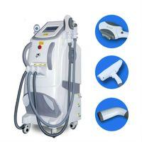 IPL Laser Regiuvenzione del viso Ringiovanimento permanente Depilazione permanente Macchine per la casa USO Rimozione del tatuaggio ND YAG DHL Trasporto libero