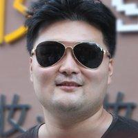 LvlouisVittonlv Ray UV400 Bans Fat Friday pour les lunettes de soleil polarisées surdimensionnées de 165 mm Cubojue hommes de marque de marque noir Sun Aviation Glasse