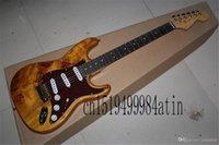 2021 Livraison GRATUITE Stratatocaster Custocold Hardware Custo Golden Hardwood Guitare électrique