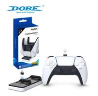 Für PlayStation 5 PS5 Game Controller Gamepad Dual Port Ladedock Stativstation Ladegerät Base Cradle Halter PS 5 Stromversorgung