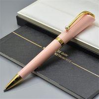 Niedrige Förderung - Hochwertige Pens Limited Edition Musses Marilyn Monroe Signature Roller Kugelschreiber Schreibbüro School Supplies mit Perle in der Kappe