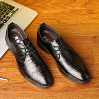 Мужчины Формальные кружева Кожаный офицер Бизнес-платье Обувь Мужская прохладная Военная Профессиональная Обувь Оксфорды Партия Квартира Обувь L4