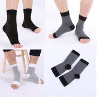 Yeni Erkekler Kadınlar Anti Yorgunluk Esnek Sıkıştırma Ayak Kollu Kısa Çorap Yüksek Kalite Rahat Fiziksel Ersexcise erkek Socks1