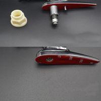 Emblème de la hotte de hotte de la capuchon de la hotte avant de l'alliage de métal chromé 3D