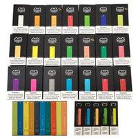 1.8 Ohm Dropshipping Cigarrete Pro Tool Micro USB Vape Caneta Descartável E Cigarro 1.4 ML 300 Puffs Barra Puff Pacote Mais Novo