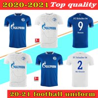 20 21 Schalke 04 Soccer Jerseys 2021 2020 Bentaleb Uth Ozan McKennie Caligiuri Raman Bentaleb Burgestaller Ibisevic Hombres Camisas de fútbol