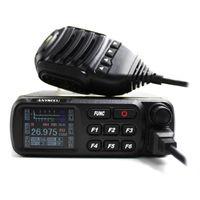 Walkie Talkie A-CB-27 CB راديو 26.965-27.405 MHz AM / FM 12/24 V 4 Walcd Schermo Schermo Band Citizen Band Multi-Le Norme Mobile CB27