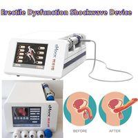 Système de thérapie de douleur physique efficace SW8 Système de choc acoustique Vague de choc extracorporel Machine à ondes de choc pour la douleur Selon le reliever