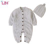 LZH Baby Strampler 2020 Herbst Winter Neugeborenes Baby Overalls Für Jungen Mädchen Jumper Kinder Kostüm Kinder Säuglingskleidung 0-2 Jahr1