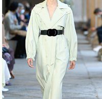 Designer Belts Lady Belt Belt Donne Big Fibbia Cinture per la cintura regolabile in pelle da donna cintura regolabile lungo cintura di moda per le signore Drop Shipping