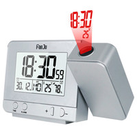 الإسقاط المنبه ساعة رقمية تاريخ غفوة وظيفة الإضاءة الخلفية العارض الجدول مكتب الصمام الساعات مع الوقت درجة الحرارة الرطوبة