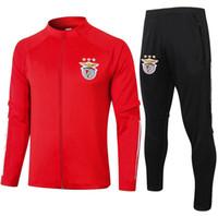 2020 Benfica Survitement Jacket Training Suit Futebol Jersey Tracksuits 2021 Benfica Tracksuit Jaqueta de futebol Tracksuit Set