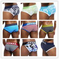 Jockmail Mark Sexy Print Slips Ardennes Pouch Mens Bikini Jockstrap Low Taille Harding Cato Gay