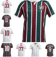20 21 Fluminense Mens Futebol Jerseys New Evanilson Ph Ganso Home Verde Vermelho Vermelho Branco Camisa de Futebol M. Paulo Miguel Camisetas de Futebol