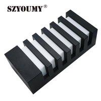 Lámpara de pared SZYOUMY 15W LED Sunsbell Moderno Aluminio COB Light IP65 Aplicación impermeable Aplique Finxture