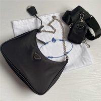 Cross-Body Handtasche Heißqualität Tasche Nwdso Best-Selling Lady Luxury Chain Designer Re-Edition Lunk Tote High Nylon Leder S WTECI
