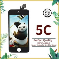 Good Quality Pantallas LCD Screen For iPhone 5C LCD Touch Screen Display Replacement Digitizer Assembly For iPhone 5C All Tests Well