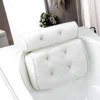 Cuscino da bagno Spa con ventose Collo e schienale Supporto Poggiatesta Cuscino addensato per casa vasca idromassaggio per cuscino da bagno Accessori