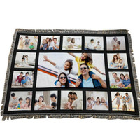 Sublimation Panel Blanket White Blank Blankets for Sublimati...