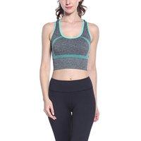 الجمنازيوم الملابس 2021 المرأة المتوسطة تأثير التغطية كاملة مصبوب كوب الأسلاك الرياضية الحرة