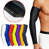 Coupeaux au genou Coup de sport Bras de compression Basketball Basketball Vélo Summer Volleyball Protection Volleyball Bands1