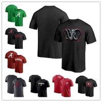 Alabama Crimson Tide T футболка с полуночной талисман с коротким рукавом TEE оригинал ретро летняя футболка с круглым шеей