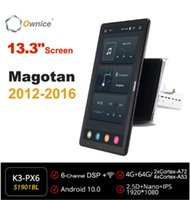 Auto Audio 13.3 Zoll 1920 * 1080 Eigentor Android 10.0 Radio Forvw Magotan 2012 2013 2014 2021 Auto Multimedia GPS-Spieler drehbar