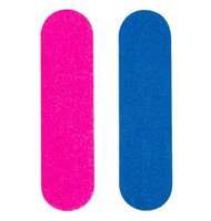 100pcs / pack file di unghie doppio a doppio lato Mini tamponi Strumenti DA TE Sandpaper Nail Tips Levigatura Professional Nail Art Strumenti