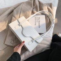 Toposhine Nigedu Fashion Stone Patten Bag para Bolso de mujer Bolsos populares Bolso de hombro Diseñador de lujo Señoras Crossbody